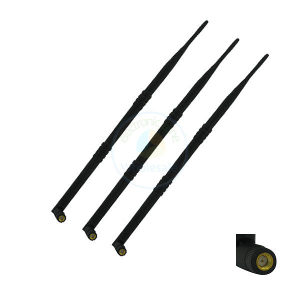 3 2.4 ghz 5ghz 9dBi RP-SMA antenna wifi dual band for TP-Link TL-WDR4300 TL-WR940N(China (Mainland))