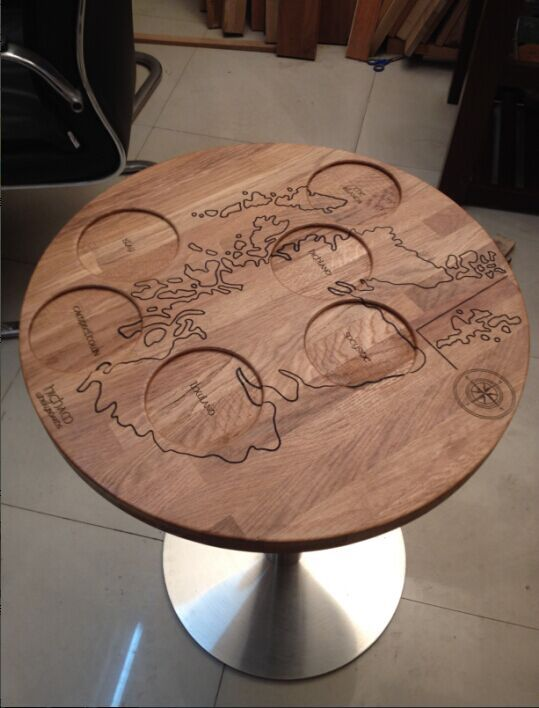 Carved table top CNC table top artistic table top(China (Mainland))
