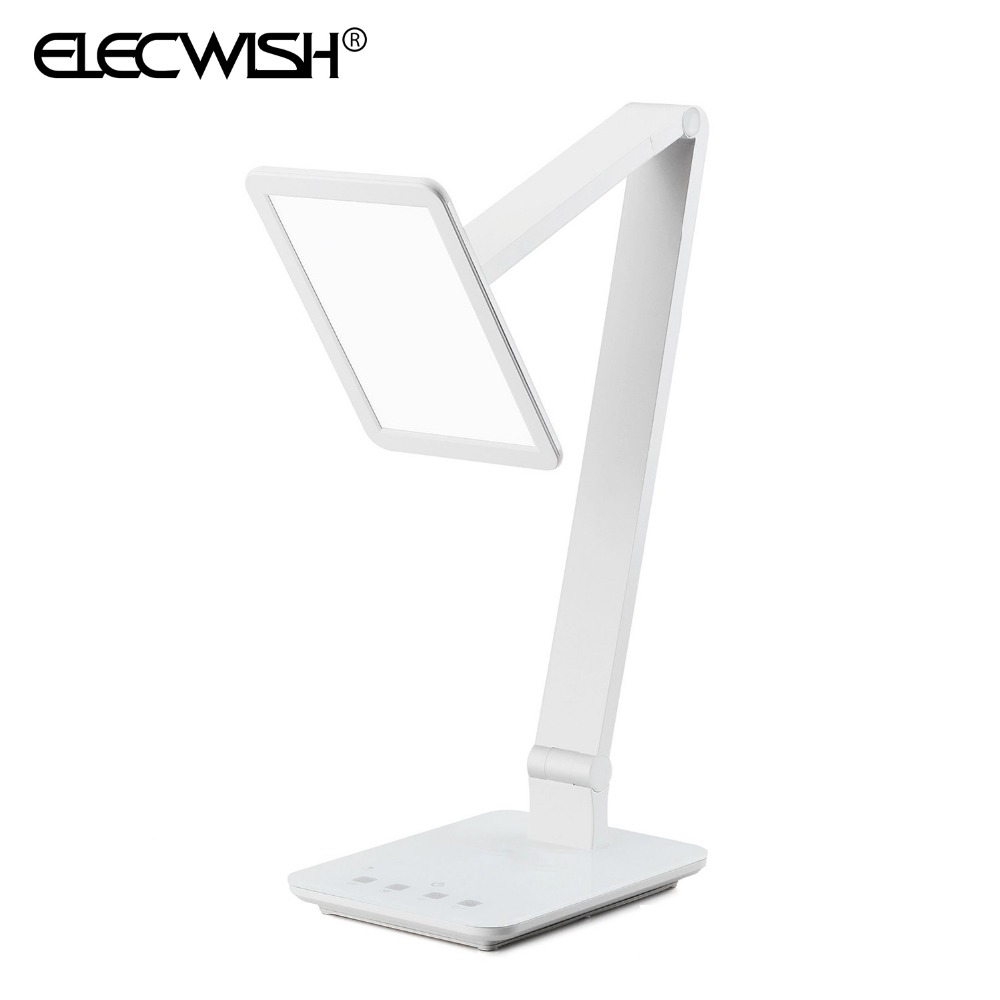 White LED Desktop Lamp 4 Lighting Modes Dimmer Control Colors Temperature Touch Sensitive USB Home Office Lights 10015<br><br>Aliexpress