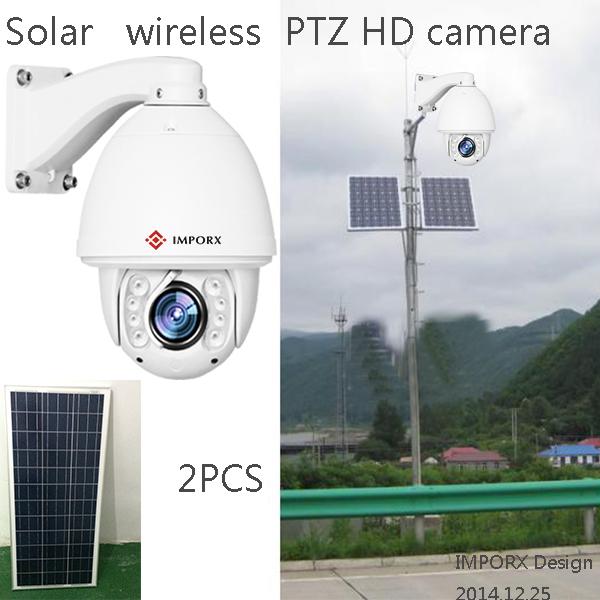 Solar Power 1.3MP COMS Hikvision audio auto tracking ptz ip camera wireless wifi 960p ip camera 20X zoom IR wireless CPE/AP(China (Mainland))