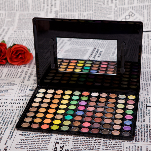 Ali Free Shipping Hot 88 Color Glitter Shimmer Yellow Naked Eyeshadow Palette Pigment Cosmetic ...