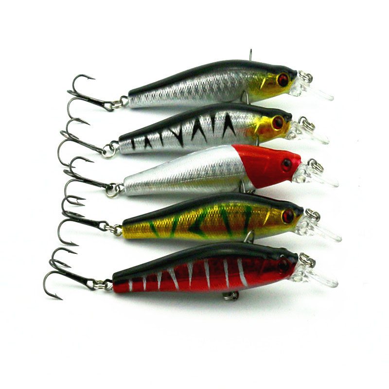 1pc 17cm multi color integrated bait fake lure lake for Lake lure fishing