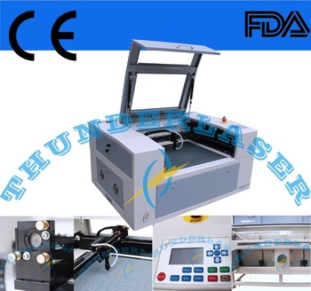cloth cutters MINI60 for cutting and engraving machine laser materials