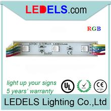5 years warranty 12v 0.72w rgb Samsung 5050 led module RGB waterproof rgb led strip led strip rgb(China (Mainland))