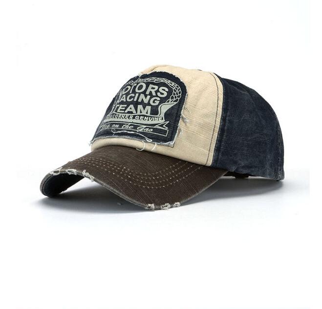 2015 New Letter Motors Retro Hats Baseball Cap Brand For Men Women Summer Outdoor bone Snapback Hats Vintage Peak Visors Caps(China (Mainland))