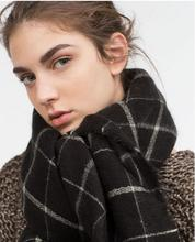 Cashmere Scarf women pashmina Soft Blanket scarf luxury brand designer scarves for women pashminas za tartan Plaid scarf