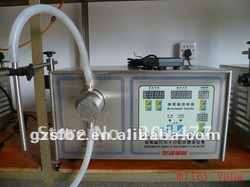 SF-1-1 semiautomatic shower shampoo filling machine supplier(M)