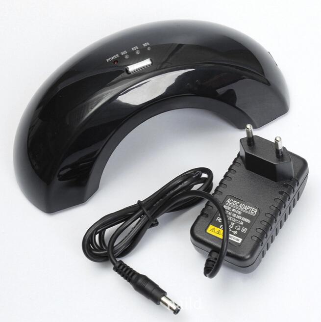 12W US EU Plug LED Nail Gel UV Lamp 110V-220V Curing Dryer Light 30s 60s 90s Timer - Vikyson Technology Co., Ltd store