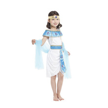 Kids Cleopatra The Queen of The Nile Costume Girls Egyptian Princess Fantasia disguise Fancy dress