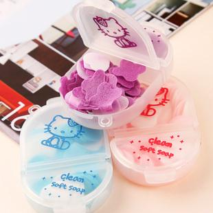 Travel portable soap flower mini kitty cat soap(China (Mainland))