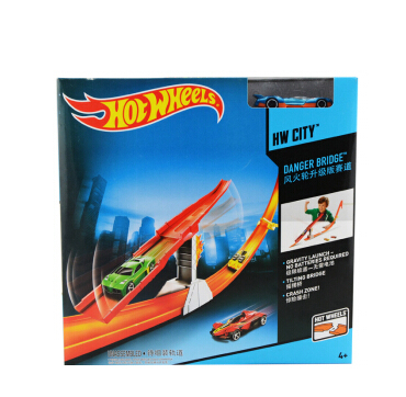 Authorized sales Hot Wheels model BCT35-CBH32 track toy kids toys Plastic metal miniatures cars track classic boy toy car(China (Mainland))