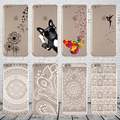 Latest retro flower elf hollow shell transparent soft TPU Case For Apple iPhone 5 5S more