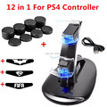 image for For Sony Play Station 4 PS4 Controller L1 R1+L2 R2 Trigger Buttons Con