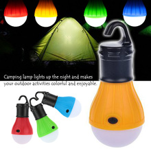 Portable Outdoor Hanging Tent Camping Light Soft Light LED Bulb Waterproof Lamp Lanterns Night Lights Powered By 3*AAA Battery(China (Mainland))