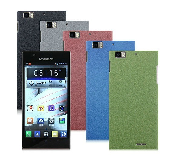 Free Shipping Hard Cover Case For Lenovo K900 Smart Phone + Screen Protector
