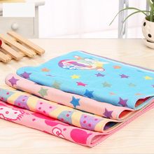 1 pc Children Washcloth Baby Feeding Baby Face Towels Washers Hand Cute Cartoon 3 layers