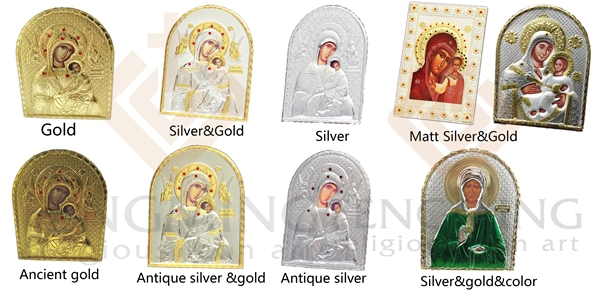 Plating icon wood mdf double metal silver icon jesus christ images plating icon wood mdf double metal silver icon jesus christ images with mary mother of jerusalem theotokos baptism gifts us341 fandeluxe Choice Image