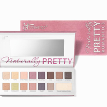 2016 New Arrival brand makeup Naturally Pretty 16 color Matte Vol 2. Eyeshadow Shimmer Eyeshadow Palette For IT Cosmetics(China (Mainland))