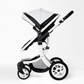 2017 High Quality Luxury Landscape stroller four wheel drive and a place to lie baby stroller