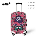 ONE2 Design 18 20 24 28 Inch Creative Color Printed Luggage Covers Spandex Travel Suitcase Protective