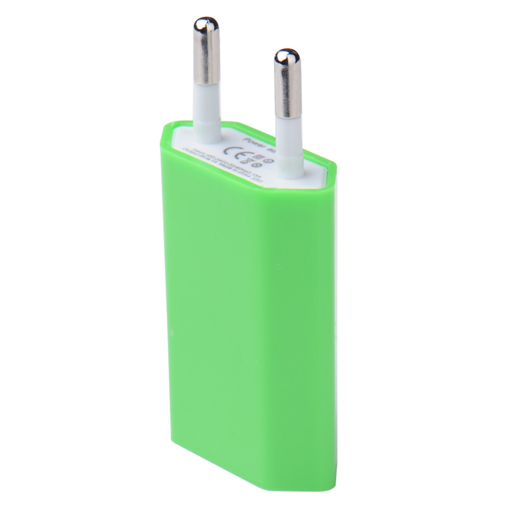 EU Plug 5V 1A Universal Phone Charger for Xiaomi Huaiwei Lenovo Portable Home Travel Wall Charging for Iphone 5 7 6S Plus Ipad