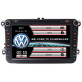 2Din car dvd gps navigation for Bora JettaGolf 5 Tiguan Passat CC Polo Caddy with Canbus