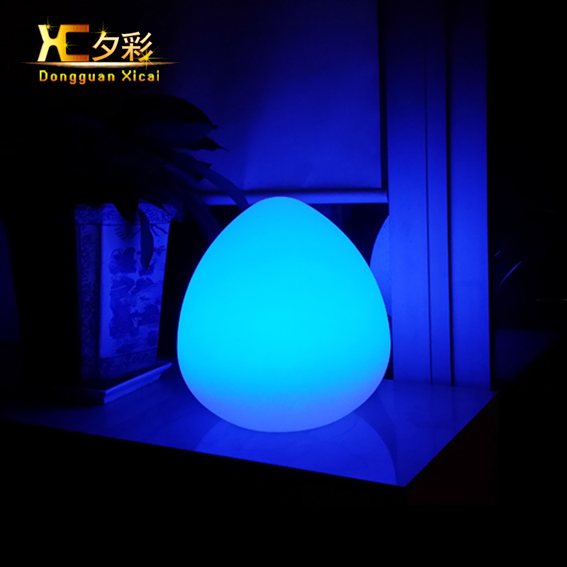 Fashion Unique Peach LED Night LightsAutomatic Luminous Color Changing Bedroom Bar Club Table Lamp Chargeable Light - XICAI Lighting LTD store