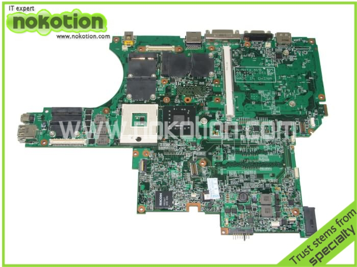On sale for Lenovo W700 laptop motherboard 48.4Y901.051 Non-integrated DDR3 tested(China (Mainland))