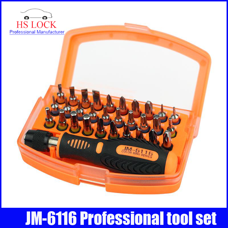JM-6116 Latest Household Screwdriver Tools Color Ring Series Screwdriver set(China (Mainland))