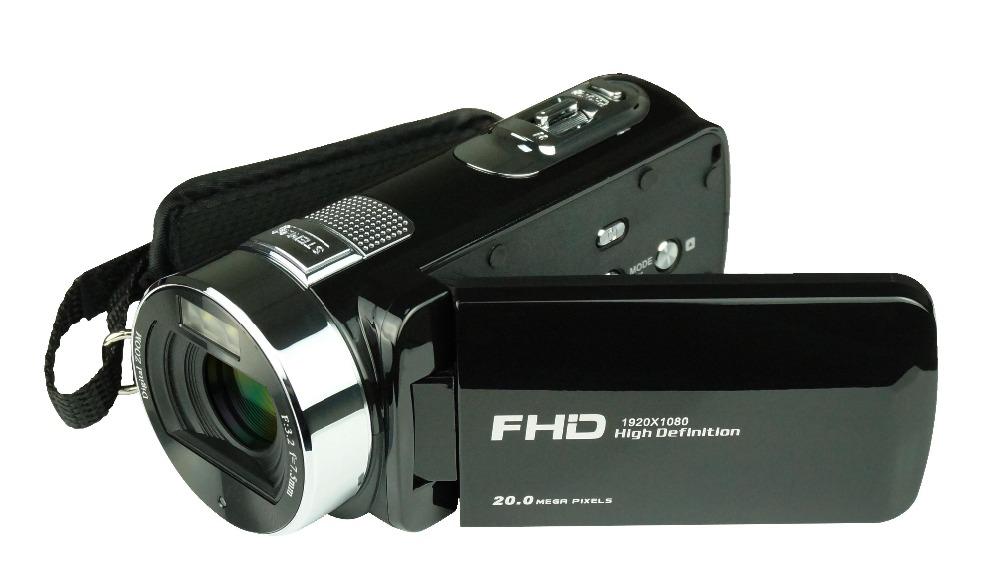 "Max 24MP Shooting FHD 1080P Digital Video Recorder DV HDV-F6 2.7"" LCD Display HDV Professional Camcorder Remote Control"