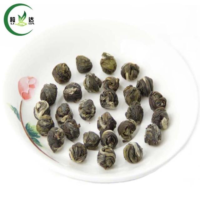 250g Spring  Dragon Pearl Jasmine Green Tea Jasmine Dragon Ball Slimming Tea Chinese Tea Food