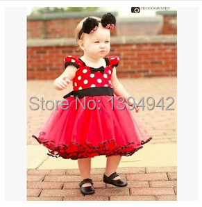Arrive girl dress minnie mouse girls child children party christmas
