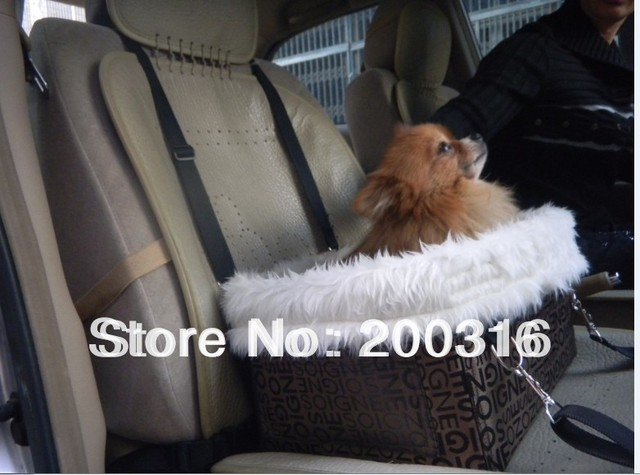 New Arrival Pet Dog Car Carrier Bag Pet Car Seat Cover Free Shipping Three Color Selection
