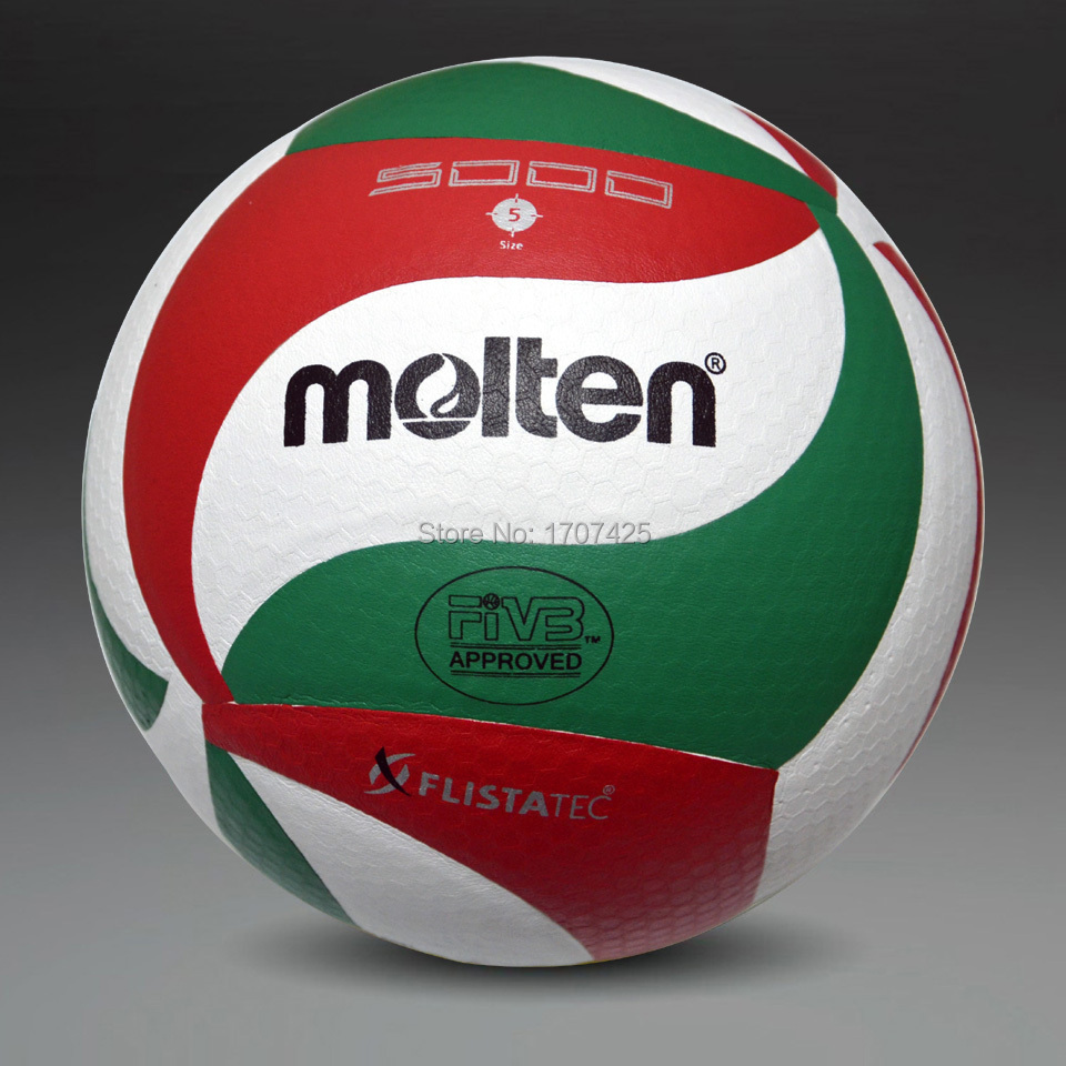 Retail 2015 New Brand Molten Soft Touch Volleyball ball, VSM5000, Size5 match quality Volleyball Free With Net Bag+ Needle(China (Mainland))