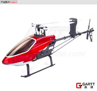 GARTT 500 DFC TT RC  Helicopter  Torque Tube Version With plastic canopy Align Trex 500