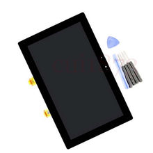Free shipping Top quality Replacement For Microsoft Surface RT Tablet Touch Digitizer LCD Screen Display Assembly with tools