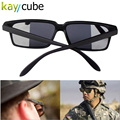HOT Fashion Sunglasses Personal Security Monitor Anti Tracking Rear View Mirror Glasses Look Back Sunglass Behind