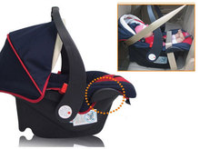 Brand Greeco Newborn Car Safety Seats Toddler Cradle Three-Point Harness Car Cushion Seat 0-13Kg Baby Baskets(China (Mainland))