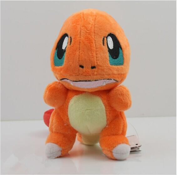 EMS 10pcs/lot Large Size  Pokemon Plush Doll 33cm Cute Charmander Plush Toy With Tag<br><br>Aliexpress