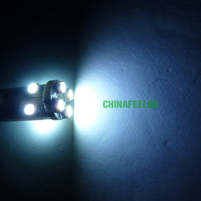 20 шт. 12 В белый ba9s canbus 1210 3528 8smd 8 СМД из светодиодов указатель поворота фара заднего хода нет ошибка # J-4307