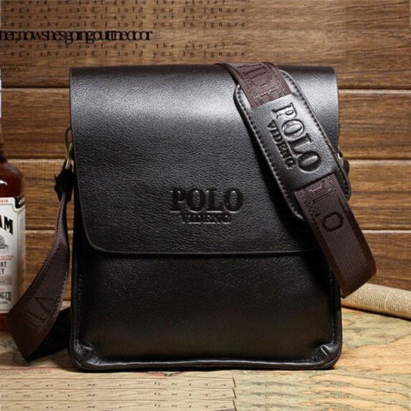 New 2015 Hot Sold Men Shoulder bags Men Handbags Top PU Leather Men Bag Fashion Men