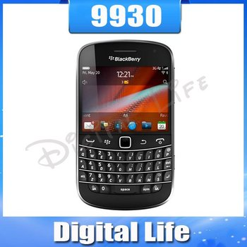 Original Unlocked BlackBerry Bold Touch 9930 Cell Phone Touch Screen 3G GPS WIFI Bluetooth Free Shipping---5pcs/lot