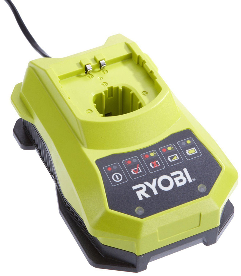 new original ryobi battery charger for ryobi 18v nicd and li ion battery bcl14181h in. Black Bedroom Furniture Sets. Home Design Ideas