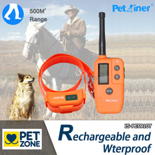 Electric Dog Collar Pet Training Product Dog Trainer Collar with Vibration and Shock