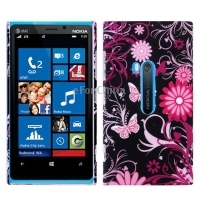 HOT Cheap and hot flower pattern plastic phone case for Nokia lumia 920