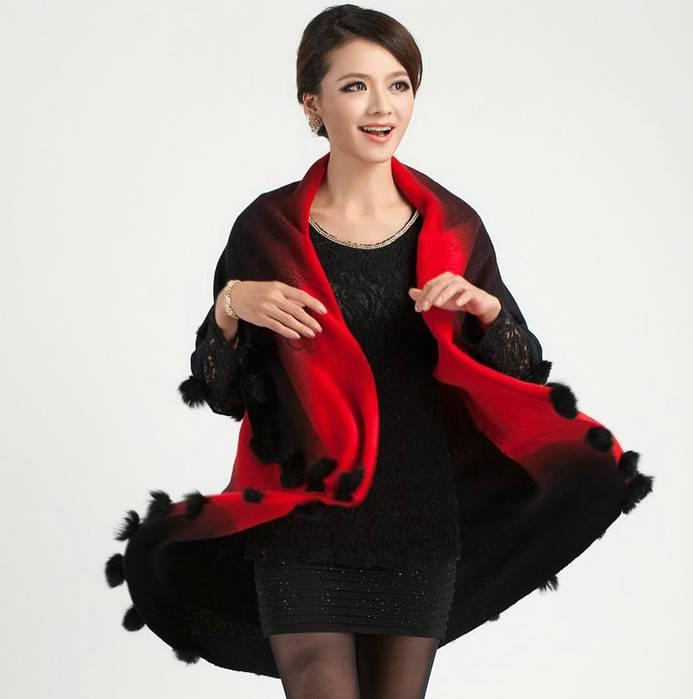 2015 Autumn Fashion Design New Hot Plus Size Middle-Aged Mother Cardigan Sleeveless Wrap Woolen Knit Long Women Sweater Coat W2 - Beauty store