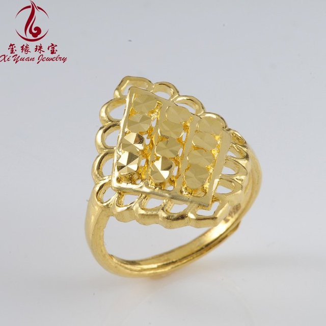 yellow gold jewelry 24k gold ring real gold ring jewelry best price product 1163xy1