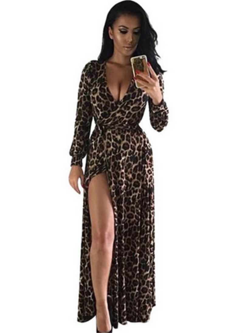 online get cheap long leopard robe -aliexpress | alibaba group