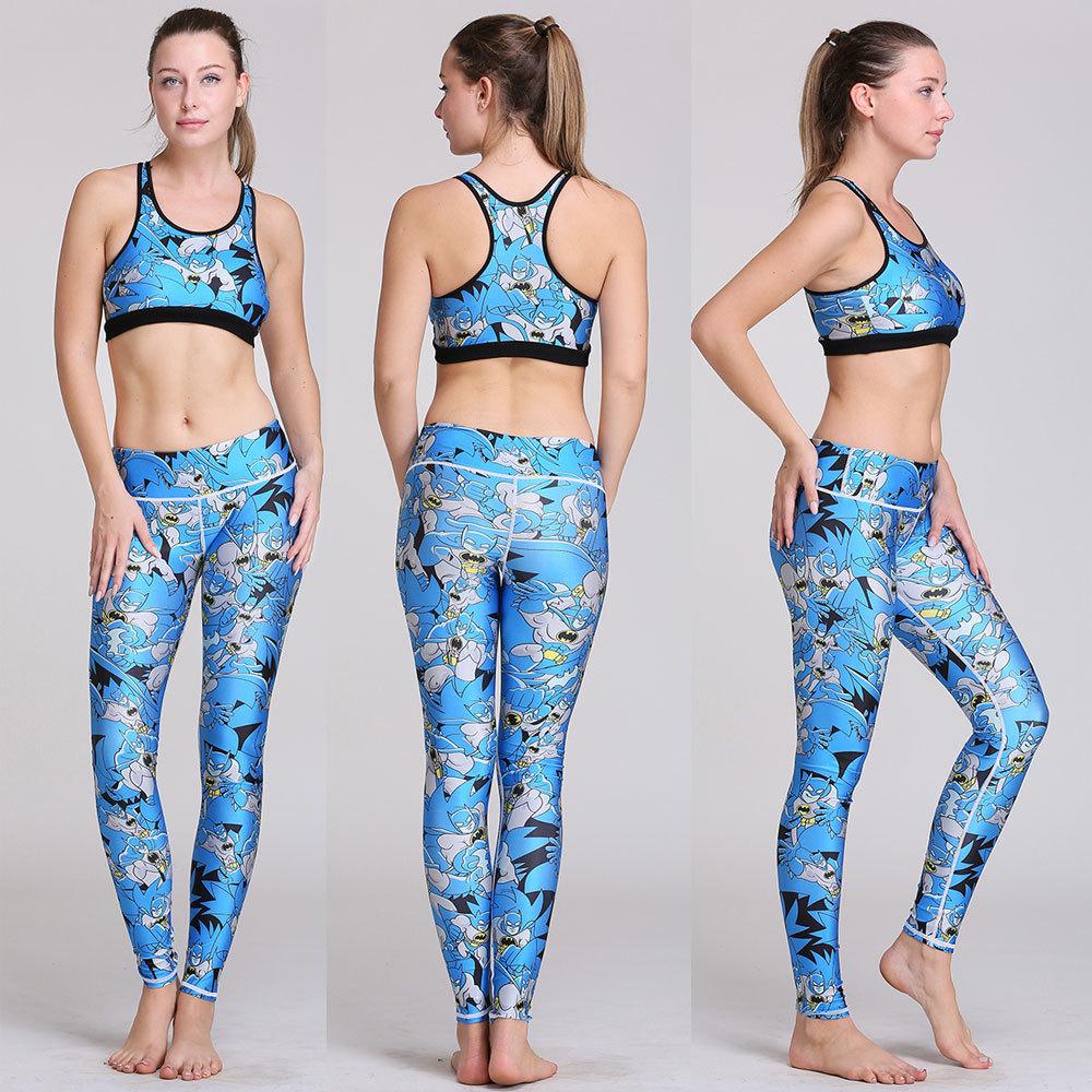 Women Yoga Compression Sports Pants Elastic  tight printing Yoga  Yoga clothes Female Fitness Running Trousers Gym Slim Leggings<br><br>Aliexpress
