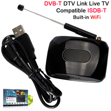 DVB-T TV HD1080P TV Box Wifi DVB-T DTV Link Live TV Tuner compatible with ISDB-T Built-in WiFi for Android IOS XBMC(China (Mainland))